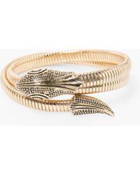 Mango | Snake Bracelet | Lyst