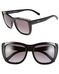Chloé 'Dallia' 55Mm Sunglasses - Lyst
