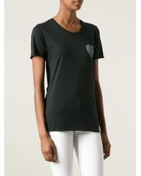 Zoe Karssen Front and Rear Printed Tshirt - Lyst