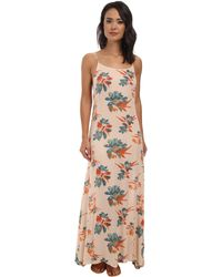 Free People Go To Gauze Printed Star Chasing Slip - Lyst