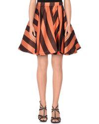MSGM | Knee Length Skirt | Lyst