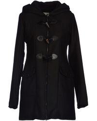 Aiguille Noire By Peuterey Black Coat - Lyst