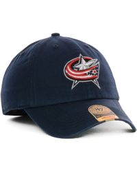 47 Brand Columbus Blue Jackets Franchise Cap - Lyst