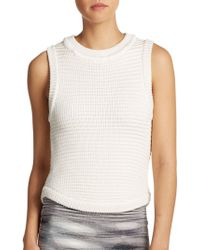 Torn By Ronny Kobo Sleeveless Knit Pullover - Lyst