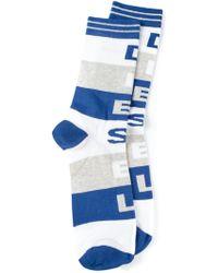 Diesel Blue Skm-ray Socks - Lyst