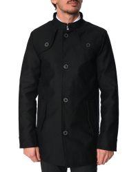 Selected Maison Black Coat - Lyst