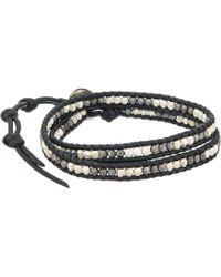 Chan Luu - 13' Nugget/natural Black Wrap Bracelet - Lyst