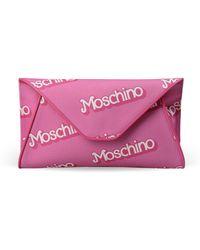 Moschino Clutch - Lyst