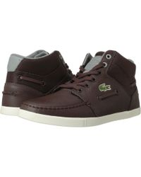 Lacoste Brown Crosier-sail-mid Se - Lyst