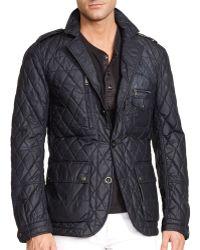 Ralph Lauren Black Label Quilted Sport Coat - Lyst