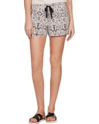 Joie Layana Shorts black - Lyst