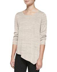 Joie Tambrel C Metallic Knit Sweater - Lyst