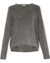Helmut Lang Loft Wool-Blend Sweater - Lyst