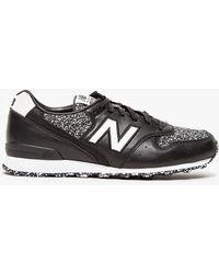 New Balance 696 In Black - Lyst