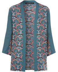 Sugarhill - Deco Bird Kimono - Lyst