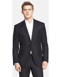 Versace Trim Fit Wool Suit - Lyst
