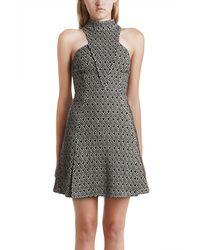 Charlotte Ronson Mini Dress - Lyst