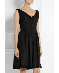 Vivienne Westwood Anglomania Saturday Cotton-Voile Dress - Lyst