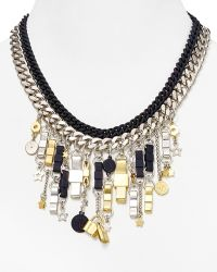 Marc By Marc Jacobs Charmed Bow Tie Statement Necklace - Lyst