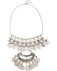 Raga - Gypsy Coin Bib Necklace - Lyst