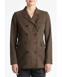 3.1 Phillip Lim | Slim Double Breasted Jacket | Lyst