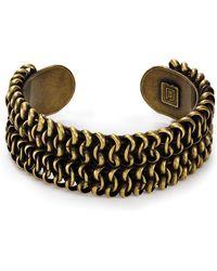 Dannijo Gold Pico Cuff - Lyst