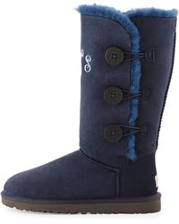 Ugg Monogrammed Bailey Button Tall Boot - Lyst