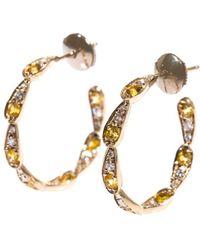 Sabine G - Diamond, Yellow-Sapphire & Gold Earrings - Lyst