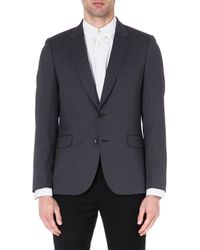 Paul Smith Wool Blend Blazer - Lyst