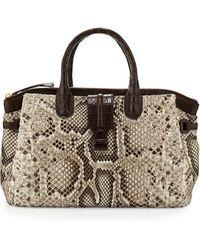 Nancy Gonzalez Cristina Medium Crocodile/Python Tote Bag - Lyst