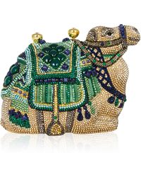 Judith Leiber Born Whilst Traveling Clutch - Lyst
