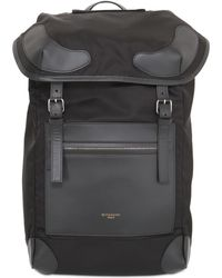 Givenchy - Nylon Backpack With Leather Details - Lyst