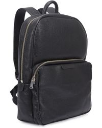 Marc By Marc Jacobs - Black Pebbled Leather Backpack - Lyst