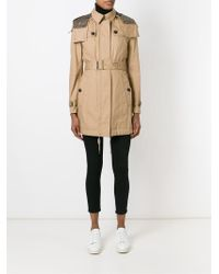 Burberry Brit - Belted Trench Coat - Lyst
