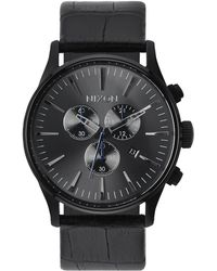 Nixon | Sentry Chronograph Watch | Lyst