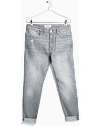 Mango Girlfriend Lonny Jeans blue - Lyst