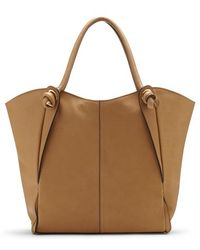 Vince Camuto 'Halie' Leather Tote - Lyst
