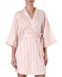 Bodas Short Kimono Robe - For Women - Lyst