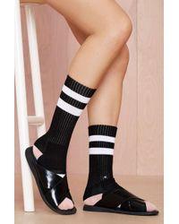 Nasty Gal Stance Charmer Athletic Socks - Lyst