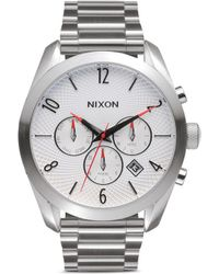 Nixon 'Bullet Chrono' Watch silver - Lyst
