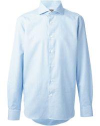 Corneliani Classic Button Down Shirt - Lyst