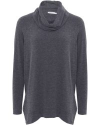 Velvet By Graham & Spencer Roll Neck Boyfriend Sweater - Lyst