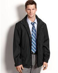 Calvin Klein Wind and Water Resistant 3 Seasons Coat - Lyst