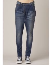 R13 | blue Blue X-over Jean | Lyst