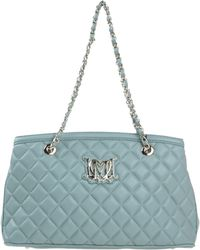Love Moschino Under-Arm teal - Lyst