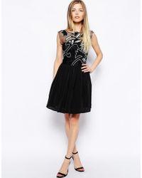 Asos Gothic Prom Dress - Lyst