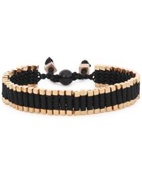Vitaly - Arma Gold Tone Link Bracelet - Lyst