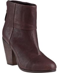 Rag & Bone Classic Newbury Ankle Boot Brown Leather - Lyst