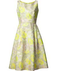 Barbara Tfank - Sleeveless Flare Dress - Lyst
