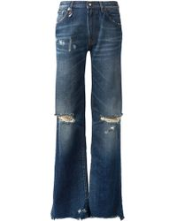 R13 Jane Flared Jeans - Lyst